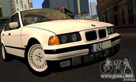 BMW E36 320i para la vista superior GTA San Andreas