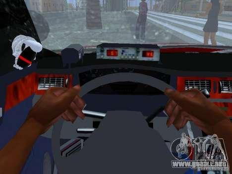 Chevrolet Impala Unmarked para vista lateral GTA San Andreas