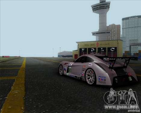 Panoz Abruzzi Le Mans V1.0 2011 para la visión correcta GTA San Andreas