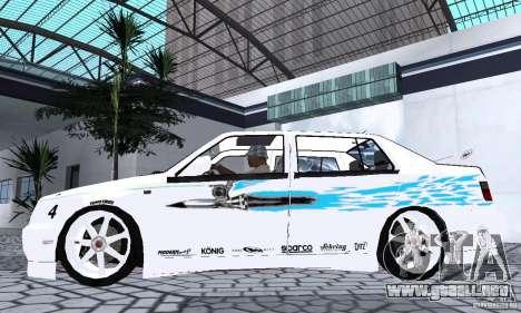 Volkswagen Jetta FnF para GTA San Andreas vista posterior izquierda