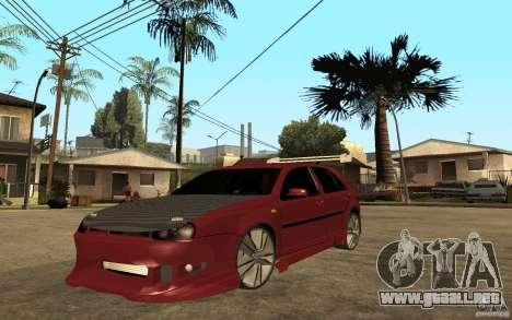 Volkswagen Golf GTI 3 Tuning para GTA San Andreas
