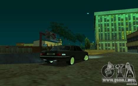 GAZ 31105 coupe para GTA San Andreas left