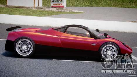 Pagani Zonda F para GTA 4 left