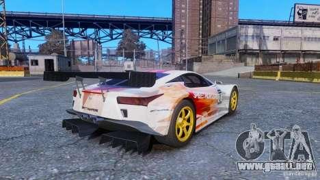 Lexus LFA SH para GTA 4 left