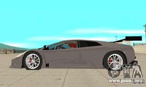 Lamborghini Murcielago R GT para GTA San Andreas left