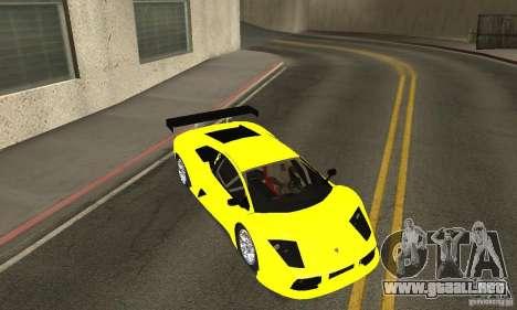 Lamborghini Murcielago R GT para la vista superior GTA San Andreas