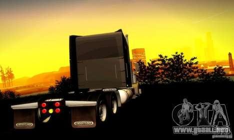 Freightliner Classic XL para la visión correcta GTA San Andreas