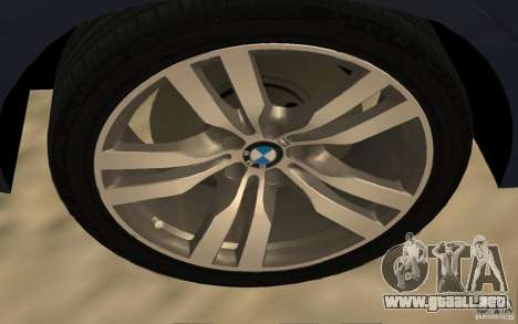 BMW X5 M 2009 para la visión correcta GTA San Andreas