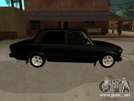 21065 VAZ v2.0 para GTA San Andreas vista posterior izquierda