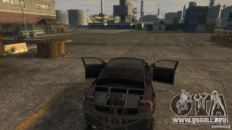 Dodge Charger Fast Five para GTA 4 vista interior