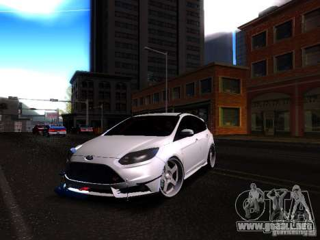 Ford Focus 2012 ST para GTA San Andreas left