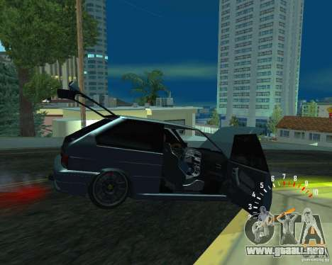 Ferarri 2113 VAZ para GTA San Andreas left