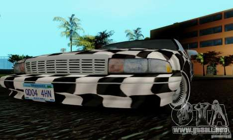 Chevrolet Caprice 1991 para vista inferior GTA San Andreas