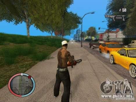 GTA IV HUD Final para GTA San Andreas sucesivamente de pantalla