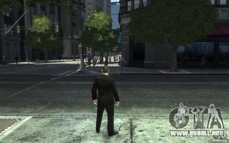 Chaquetas abiertas con lazos para GTA 4 octavo de pantalla