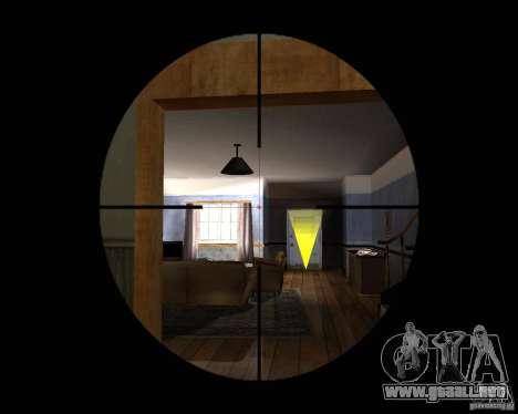 Rifle AS 50 para GTA San Andreas tercera pantalla