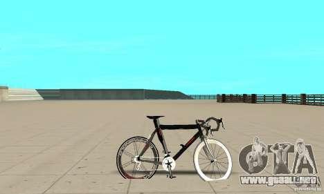 Bike Turmac Legnano para GTA San Andreas vista posterior izquierda