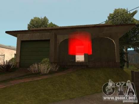 La capacidad de llamar una Suite para GTA San Andreas