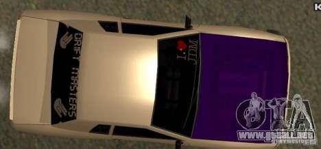 Elegy Drift Masters Final para la visión correcta GTA San Andreas