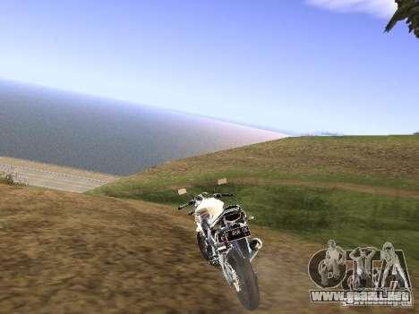 Yamaha V-Ixion para GTA San Andreas left