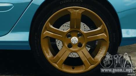 Peugeot 308 GTi 2011 v1.1 para GTA 4 vista desde abajo