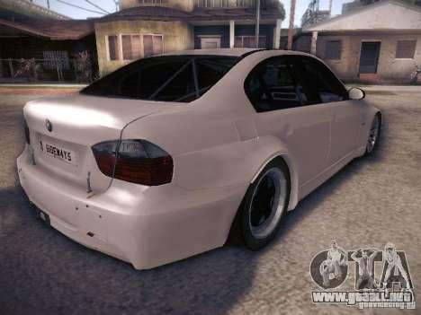 BMW 320SI Drift para GTA San Andreas vista hacia atrás