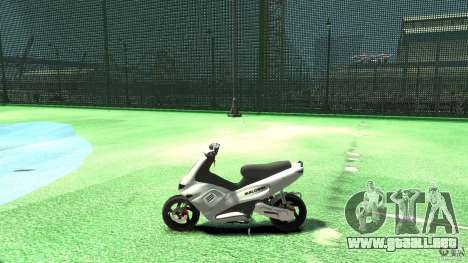Gilera runner 50 SP Without livery para GTA 4 left