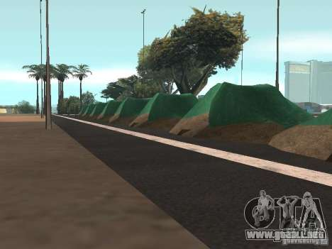 Drift track and stund map para GTA San Andreas tercera pantalla