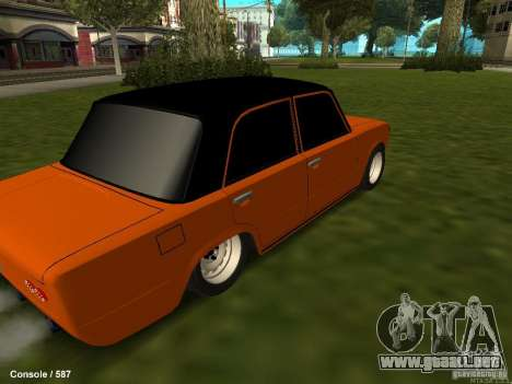 VAZ 2101 Hobo para visión interna GTA San Andreas