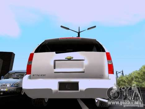 Chevrolet Tahoe LTZ 2013 para la visión correcta GTA San Andreas