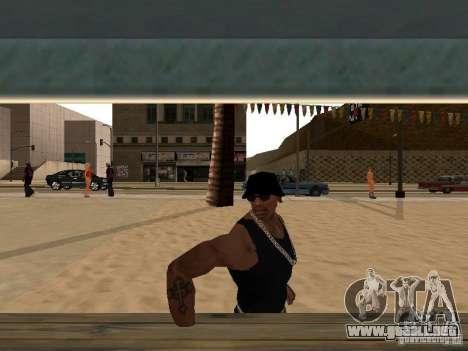 Mercado en la playa para GTA San Andreas sucesivamente de pantalla