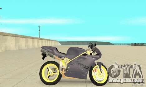 Ducati 916 para GTA San Andreas vista posterior izquierda