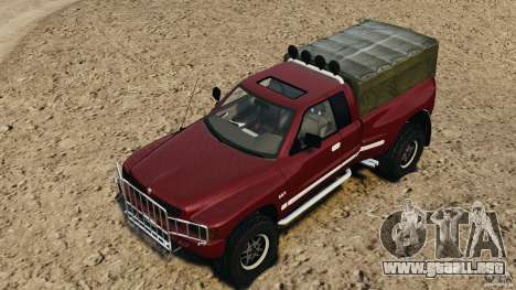 Dodge Ram 2500 Army 1994 v1.1 para GTA 4 interior