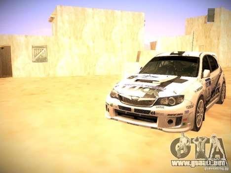 Subaru impreza Tarmac Rally para el motor de GTA San Andreas