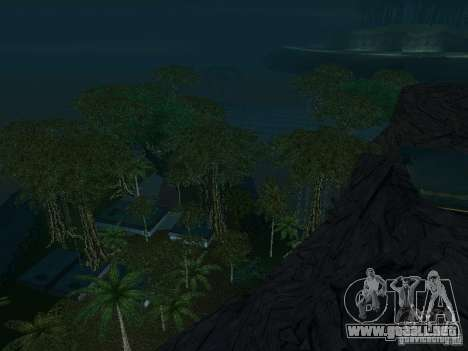 El misterio de las islas tropicales para GTA San Andreas undécima de pantalla