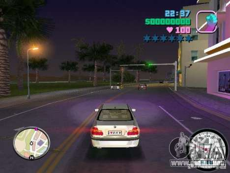 Velocímetro para GTA Vice City segunda pantalla