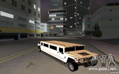HUMMER H1 limousine para GTA Vice City left