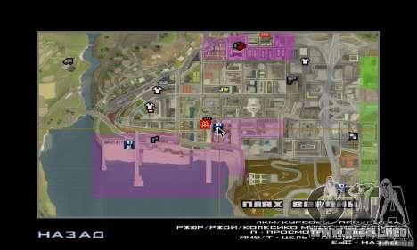 Nuevas texturas interiores para casas seguras para GTA San Andreas sucesivamente de pantalla