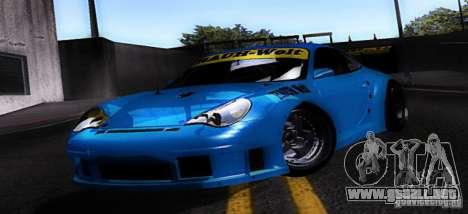 Porsche 911 GT3  RWB para GTA San Andreas left