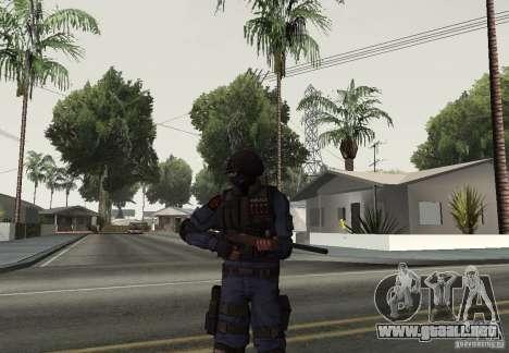 Rifle de GTA IV para GTA San Andreas segunda pantalla