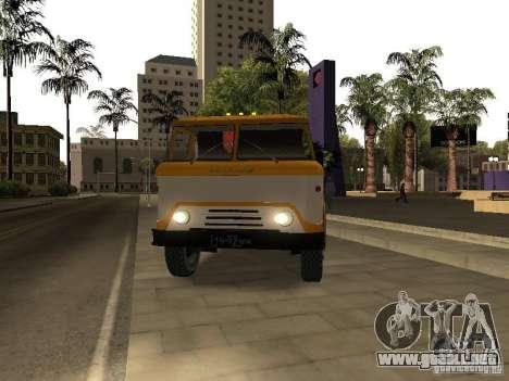 KAZ 608 para la visión correcta GTA San Andreas
