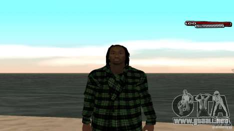 New skin Grove HD para GTA San Andreas