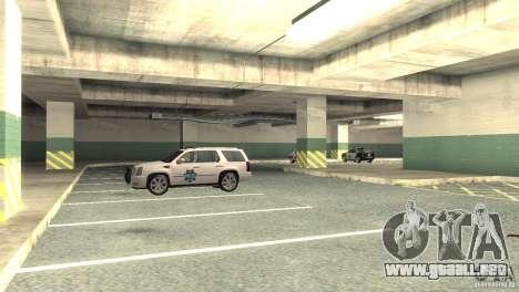 San Fierro Police Station 1.0 para GTA San Andreas sucesivamente de pantalla