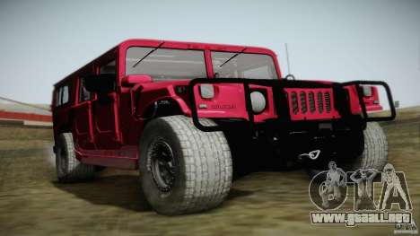Hummer H1 Alpha Off Road Edition para GTA San Andreas