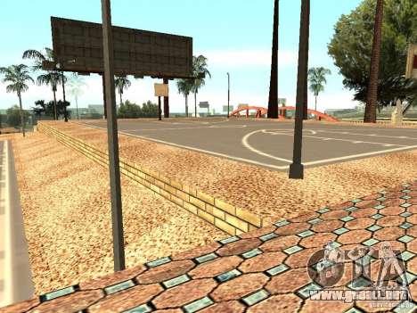 La nueva cancha de baloncesto en Los Santos para GTA San Andreas séptima pantalla
