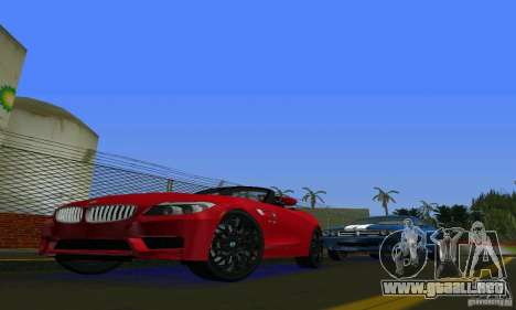 BMW Z4 V10 2011 para GTA Vice City left
