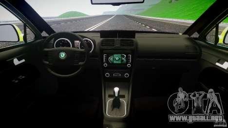 Skoda Octavia Scout Essex [ELS] para GTA 4 visión correcta