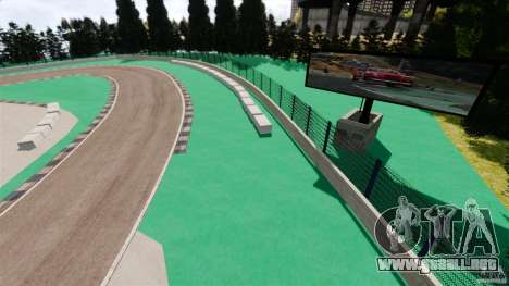 Ebisu Circuit para GTA 4 tercera pantalla