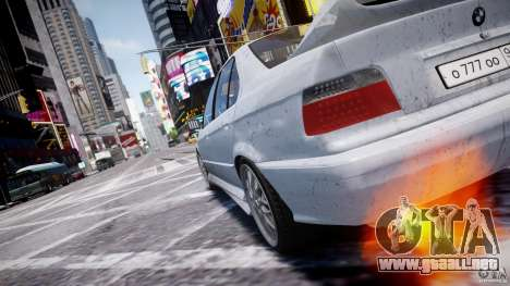 BMW 318i Light Tuning v1.1 para GTA 4 interior
