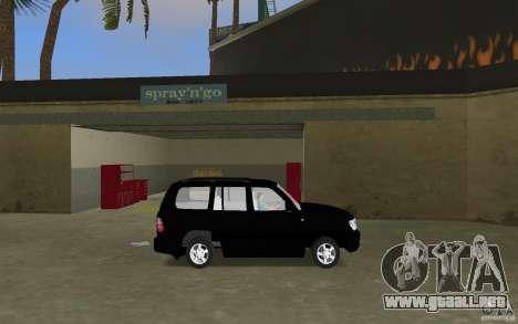 Toyota Land Cruiser 100 VX V8 para GTA Vice City left